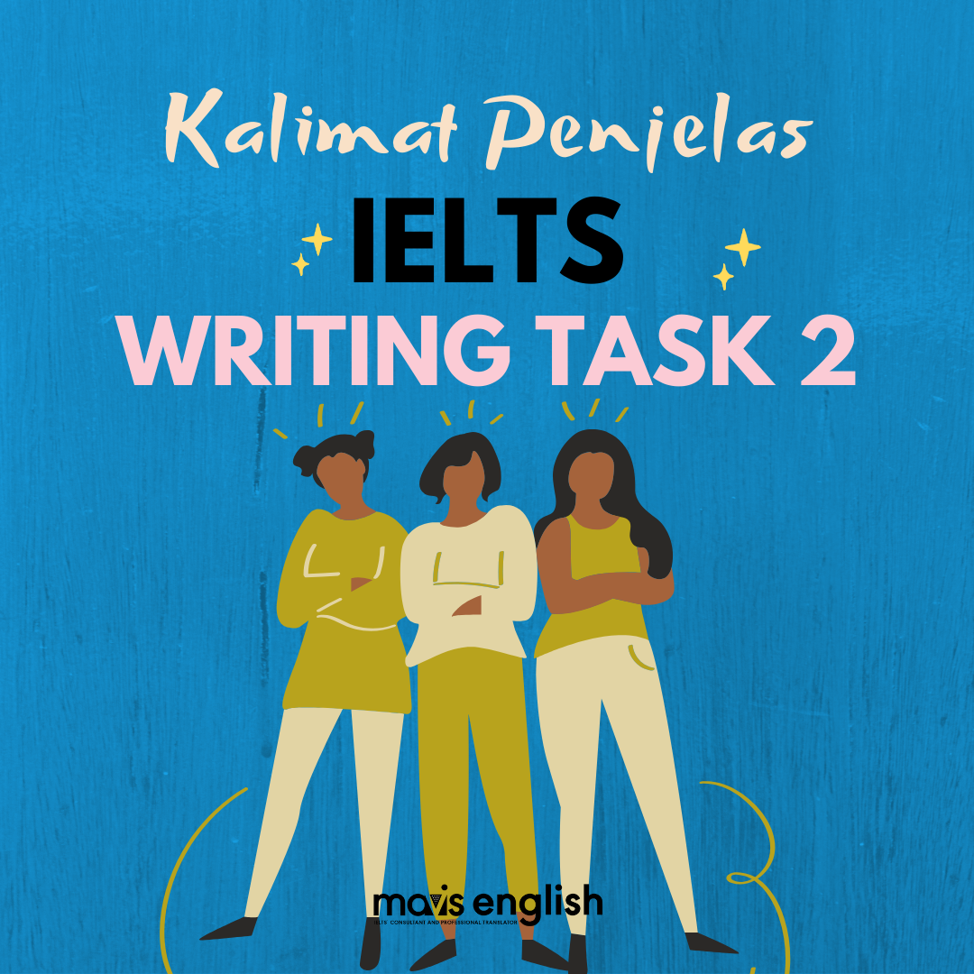 Kalimat Penutup IELTS Writing Task 2